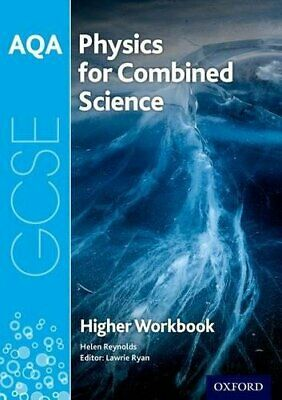 £4.49 • Buy AQA GCSE Physics For Combined Science (Trilogy) Workbook: ... By Reynolds, Helen
