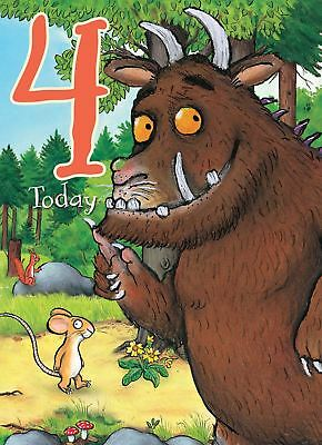 £3.49 • Buy The Gruffalo Birthday Card For A 4 (FOUR) Year Old By Danilo - GR009