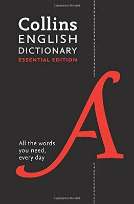 £3.99 • Buy Collins English Essential Dictionary: Everyday Words ... By Collins Dictionaries