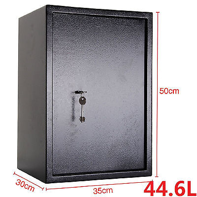 £49.95 • Buy Large Strong Steel Safe Key High Security Home Office Money Cash Safety Box