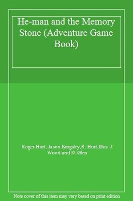 He-man And The Memory Stone (Adventure Game Book)-Roger Hurt, Jason Kingsley,R. • 3.16£
