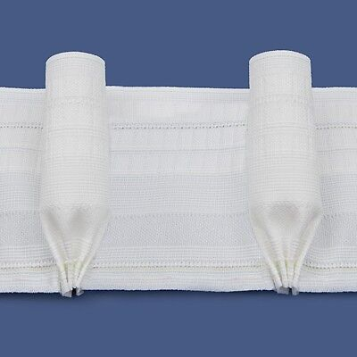 Rufflette GOBLET PLEAT Curtain Tape/138mm Wide/Curtain Tape/Sold By The Metre • 3.50£