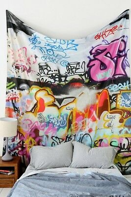 AU50 • Buy Graffiti Tapestry (Urban Outfitters)