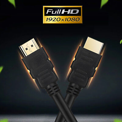 $ CDN7.98 • Buy High Speed Ultra Series HDMI 1.4 Cable Cord For 3D Video 15ft 25ft 30ft 50ft Lot