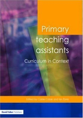£2.47 • Buy Primary Teaching Assistants Curriculum In Context (Published In Association W.