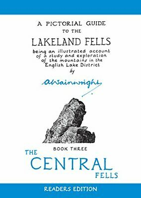 A Pictorial Guide To The Lakeland Fells, Book ... By Wainwright, Alfred Hardback • 7.28£
