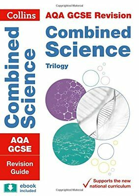 £3.68 • Buy AQA GCSE Combined Science Trilogy Revision Guide (Collins GCSE 9-1 Revision)-