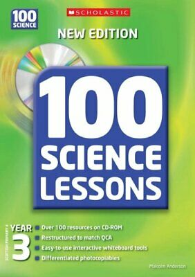 100 Science Lessons For Year 3 With ... By Anderson, Malcolm Mixed Media Product • 9.58£
