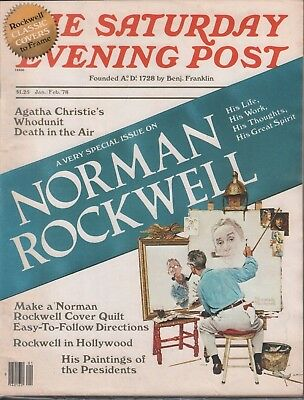 $ CDN38.84 • Buy Saturday Evening Post January February 1978 Norman Rockwell W/ML 080118DBE