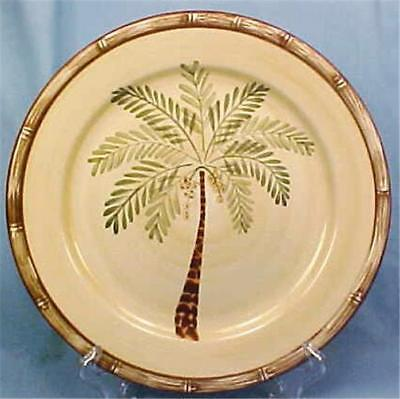 $19.99 • Buy West Palm Dinner Plate Home Trends New Old Stock Tree Tropical