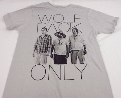Mens NEW The Hangover Wolfpack Only Logo Short Sleeve T-Shirt Size S M L XL • 11.59£
