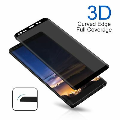 $ CDN3.66 • Buy For Samsung Galaxy Note 8 S9 Anti-Spy Privacy Tempered Glass Screen Protector