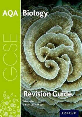 £5.49 • Buy AQA GCSE Biology Revision Guide (AQA GCSE Science 3rd Edition) By Miles, Niva
