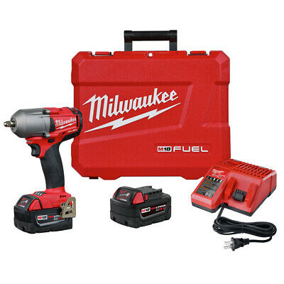 Milwaukee 2852-22 M18 FUEL 3/8 In. Impact Wrench W/ Friction Ring - 5.0 Kit New • 379.99$