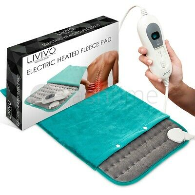 £19.95 • Buy Therapeutic Electric Heat Pad Soothing Muscle Tension Back Neck Pain Relief