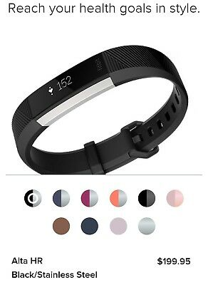 $ CDN160 • Buy Brand New Unopened Fitbit Alta HR With Pink Leather Band