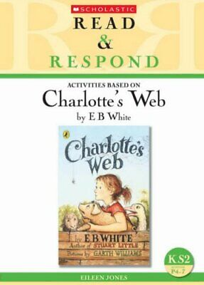£4.49 • Buy Charlotte's Web (Read & Respond) By Jones, Eileen Paperback Book The Cheap Fast