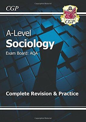 £10.21 • Buy New A-Level Sociology: AQA Year 1 & 2 Complete Revision & Practice-CGP Books