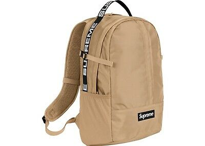 $ CDN388.83 • Buy Supreme SS18 Backpack AUTHENTIC BOX LOGO SCHOOL BAG SHOULDER WAIST REFLECTIVE DS