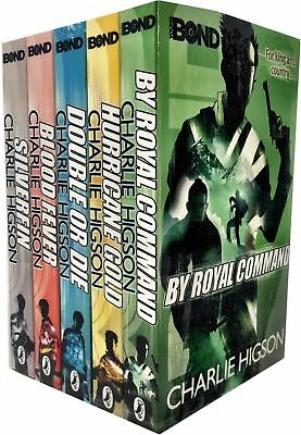 £14.97 • Buy Charlie Higson Young Bond Series Collection 5 Books Set Hurricane Gold SilverFin