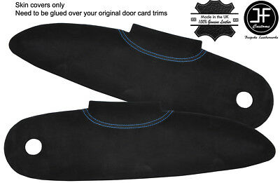 $ CDN156.81 • Buy Blue Stitch 2x Door Card Trim Suede Covers For Lotus Elise S1 96-01 Style 2