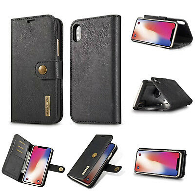 $ CDN24.99 • Buy For Samsung Note 9 8 Plus Removable Magnetic Flip Leather Wallet Card Case Cover