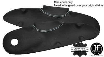$ CDN141.42 • Buy White Stitch 2x Door Card Trim Carbon Vinyl Covers For Lotus Elise S1 Style 2