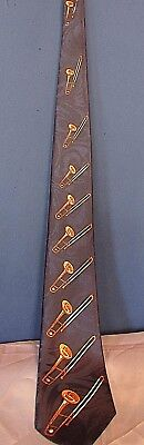 Steven Harris Trombone Men's Neck Tie   • 12$