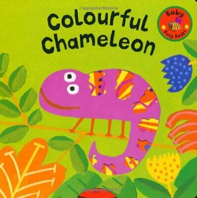 Baby Busy Books: Colourful Chameleon Board Book Book The Cheap Fast Free Post • 7.99£