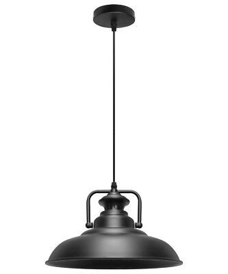 Vintage Industrial Metal Ceiling Pendant Shade Modern Hanging Retro Light M0076 • 21.99£