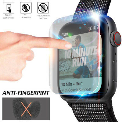 $ CDN1.79 • Buy For Apple Watch Series 4 Tempered Glass Soft Film Screen Protector 40mm 44mm Ss^