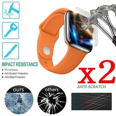 $ CDN2.99 • Buy For Apple Watch Series 4 3 2 1 38mm/40/44mm Tempered Glass Screen Protector TY