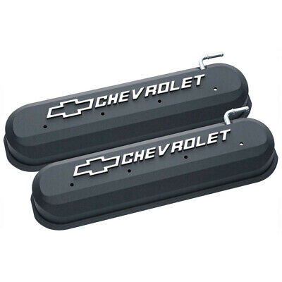 Holley 241-409 LSX Logo Gloss Red Tall LS Chevy Valve Covers LS1 LS2 LS3 LS6