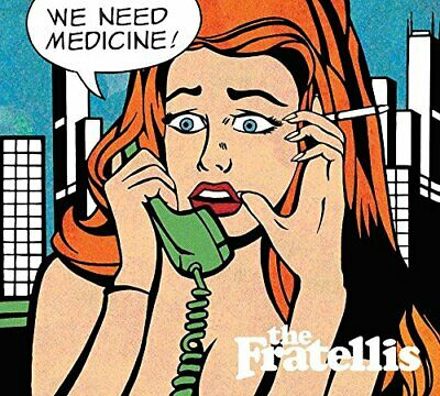 The Fratellis - We Need Medicine - The Fratellis CD MAVG The Cheap Fast Free The • 3.49£