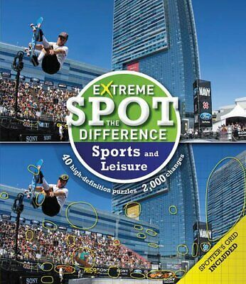 £4.99 • Buy Extreme Spot The Difference: Sport And Leisure By Tim Dedopulos Book The Cheap