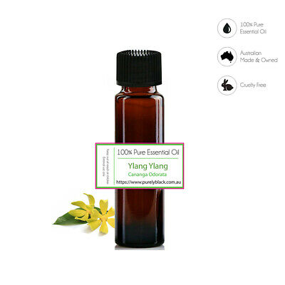 AU12.95 • Buy 100% Pure Ylang Ylang Essential Oil For Skin Care Diffuser  Aroma Aromatherapy
