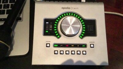 AU670.28 • Buy Universal Audio Apollo Twin Digital Mixer