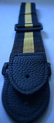 Guitar Strap Classic Gold Black Ideal Children Kids UK Small Size Boys Girls • 2.99£