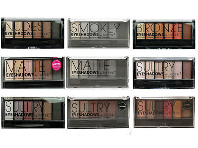 £2.49 • Buy Technic Eyeshadow Palette 6 Colour Shade Shadow Kit Compact Nude Smokey Sultry