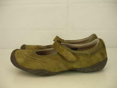 1c403e4cfe05 Womens 7.5 M KEEN Amsterdam Green Leather Mary Jane Shoes Comfort Slip-on  Loafer •