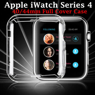 $ CDN2.75 • Buy For Apple Watch IWatch Series 4 Silicone TPU Protector Cover Case Guard 40&44mm