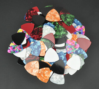 $ CDN6.87 • Buy 20Pcs Celluloid 346 Rounded Triangle Guitar Picks 0.71mm Assorted Colors