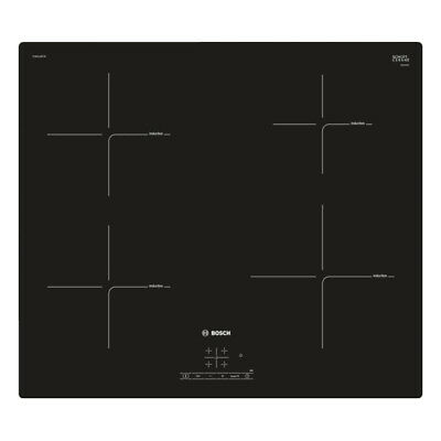 Bosch PUE611BF1B 592m Induction Hob With 4 Cooking Zones In Black • 329£
