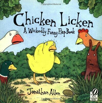 £6.49 • Buy Chicken Licken: A Wickedly Funny Flap Book By Allen, Jonathan Book The Cheap