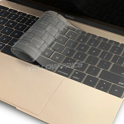 $8.41 • Buy Transparent Clear Keyboard Cover Silicone Skin For MacBook Retina 12inch
