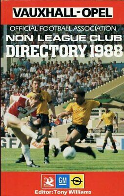 £3.99 • Buy Official Football Association Non-League Club Directory 1988 Paperback Book The