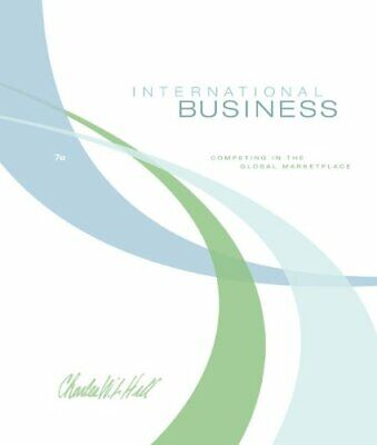£46.99 • Buy International Business By Hill, Charles W. L. Hardback Book The Cheap Fast Free