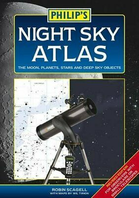 £4.49 • Buy Philip's Night Sky Atlas By Robin Scagell Book The Cheap Fast Free Post
