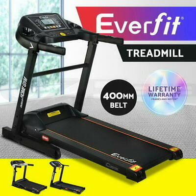 AU699.95 • Buy Everfit Electric Treadmill 400mm Running Home Gym Exercise Machine Fitness