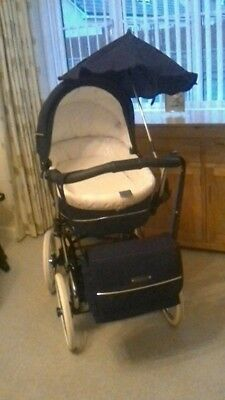 £300 • Buy Babecar Stylo Pram Consisting Of Chassis, Carrycot, Pushchair, Car Seat And Base